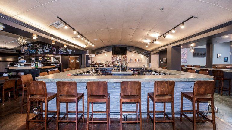 Hale Street Tavern Bar Counter
