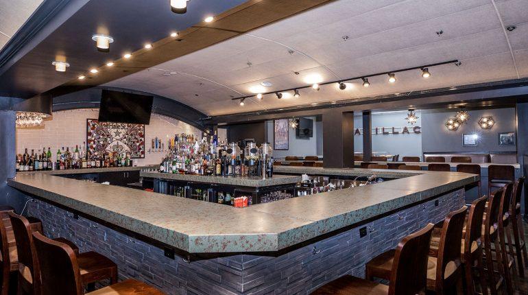 Hale Street Tavern Bar Counter Side Shot